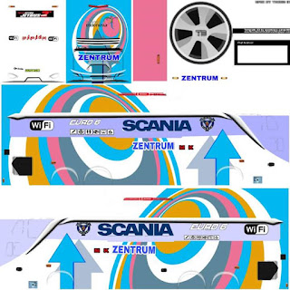 Download Livery Bus Scania