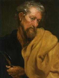 Nomes bíblicos estrangeiros masculinos com V - Imagem: Bartolomeu - Anthonis van Dyck