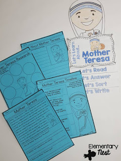 Teaching Biographies in a primary classroom (with 2 fun freebies)- lesson and activities ideas for biographies)