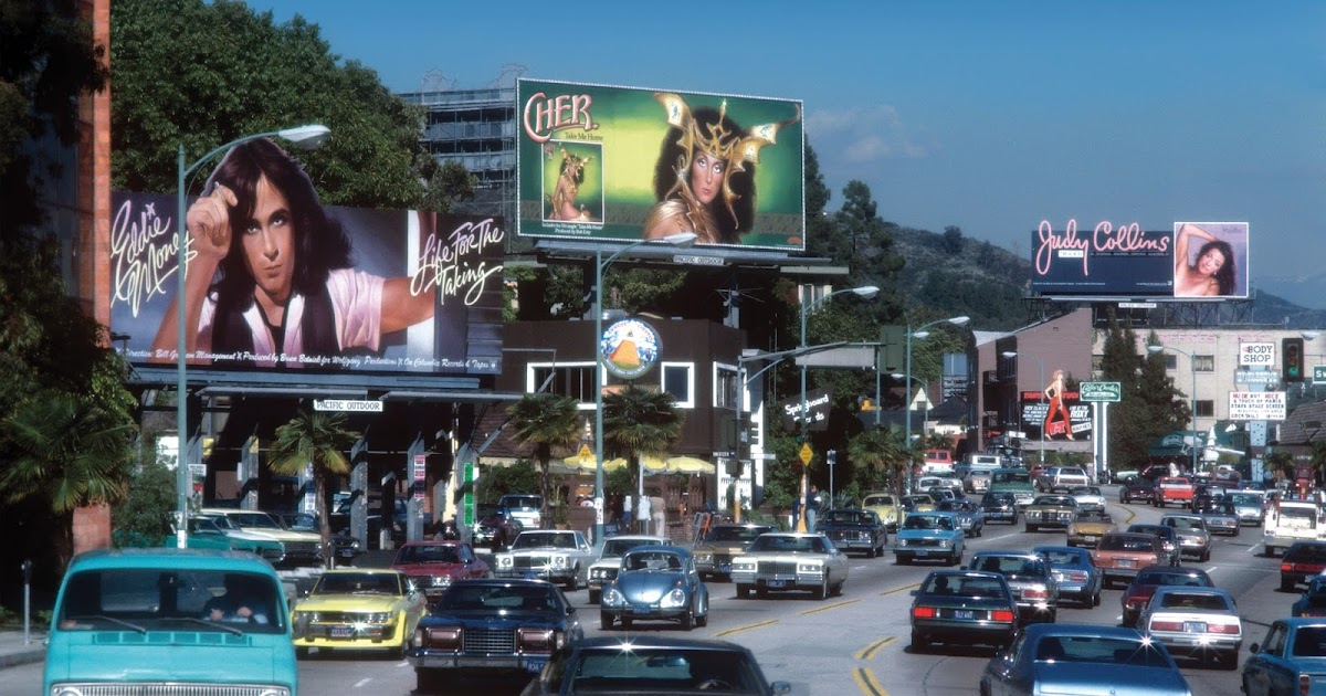 Before MTV Killed the Unsung Artform: 22 Great Rock 'n' Roll Billboards of the Sunset Strip From the Late 1960s