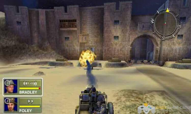 تحميل لعبة عاصفة الصحراء 1 Conflict Desert Storm مضغوطة