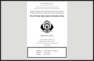 Prediksi  Soal USM PKN STAN 2016 dan Pembahasannya