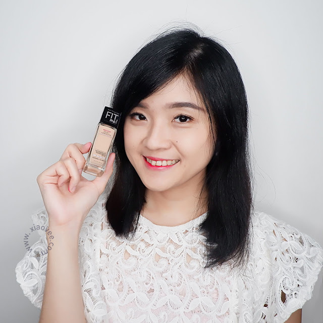 Maybelline Fit Me Dewy & Smooth Foundation Review, Foundation Maybelline Review, Review Maybelline Fit Me, Review Foundation Fit Me, Xiao Vee, Shelvi Blogger, Shelviana Handoko