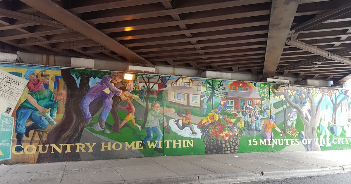 The Chicago Real Estate Local An Old Irving Park Mural
