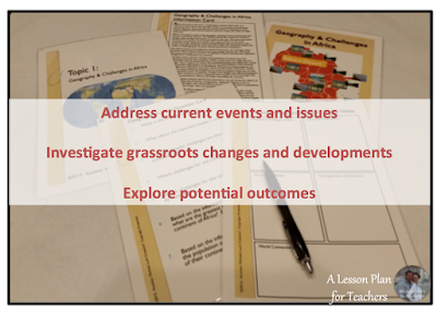Tips for teaching students to look toward the future and in making predictions in the secondary classroom.