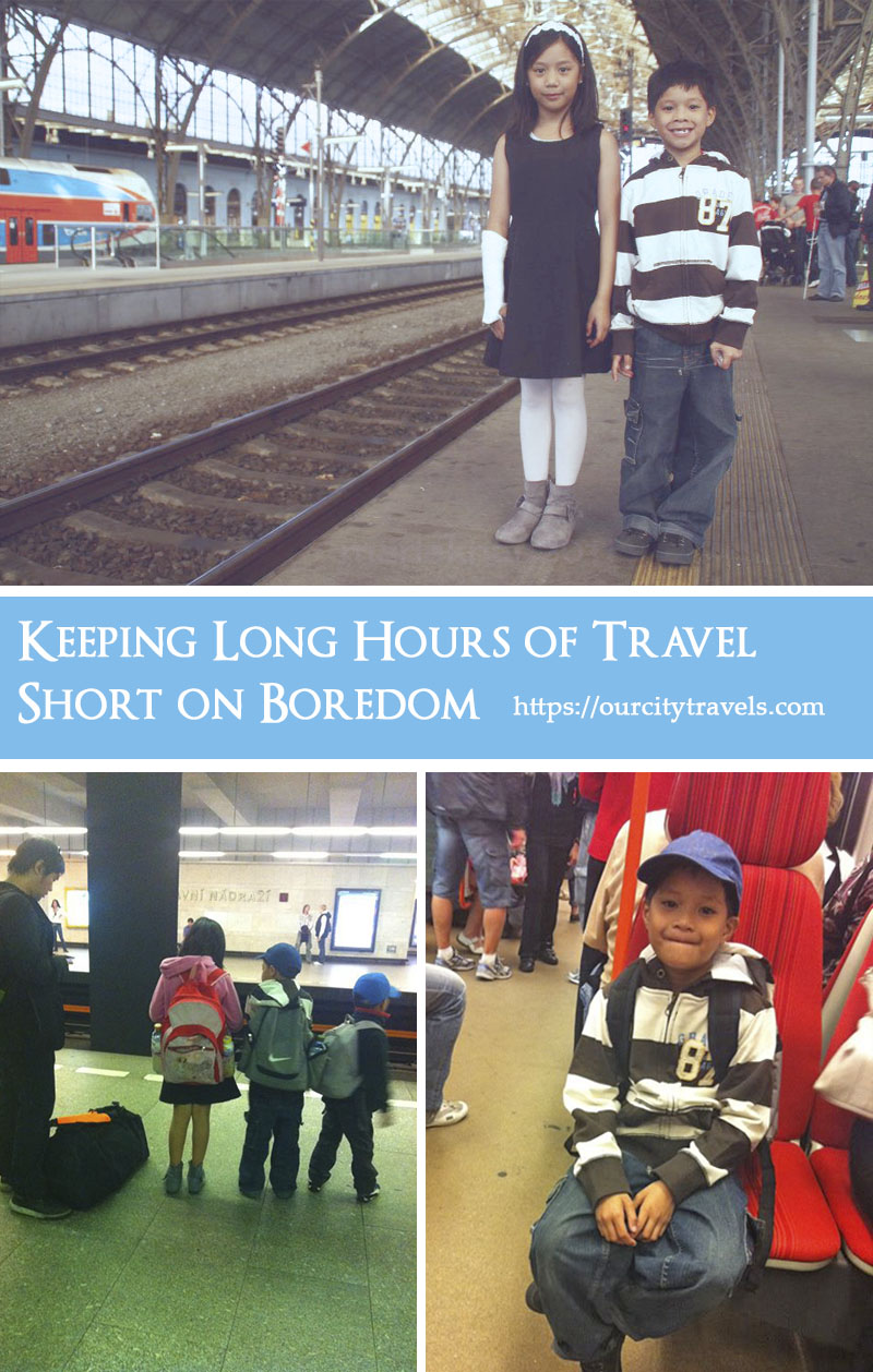 Planning activities for the journey should be part of your travel plans to keep your family holidays boredom free and interesting from start to finish.