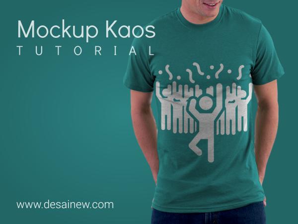 tutorial, how to create t-shirt mockup in gimp (photoshop alternatif) - membuat mockup kaos