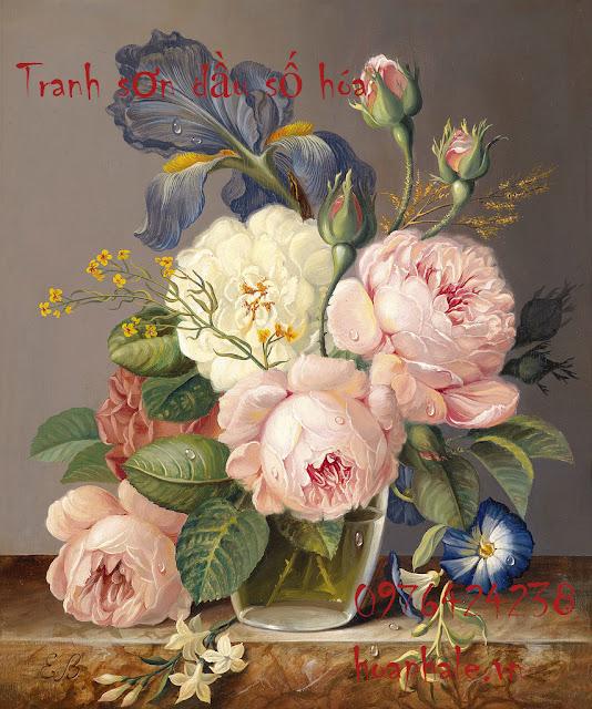 Cua hang tranh son dau so hoa tai Ba Dinh