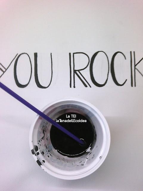 scritta dad you rock