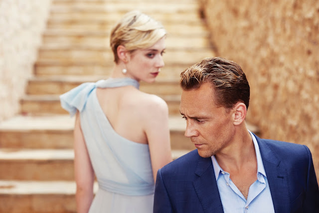 "Tom Hiddleston and Elizabeth Debicki in ""The Night Manager"""