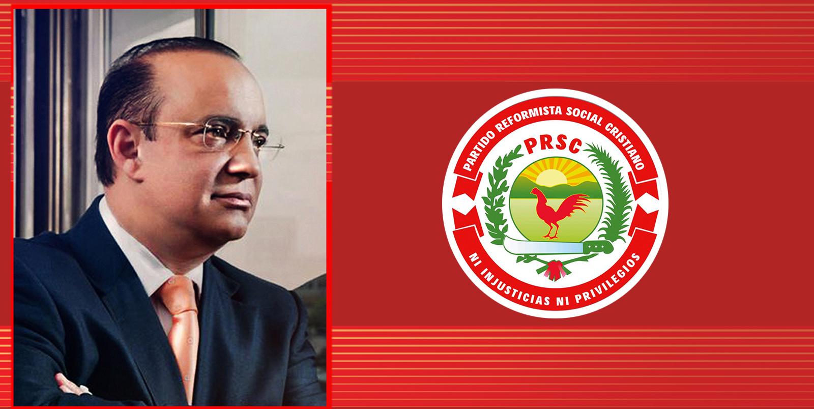 PRSC pide casilla para que se vote en blanco