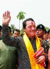 Bimal Gurung at Sukna