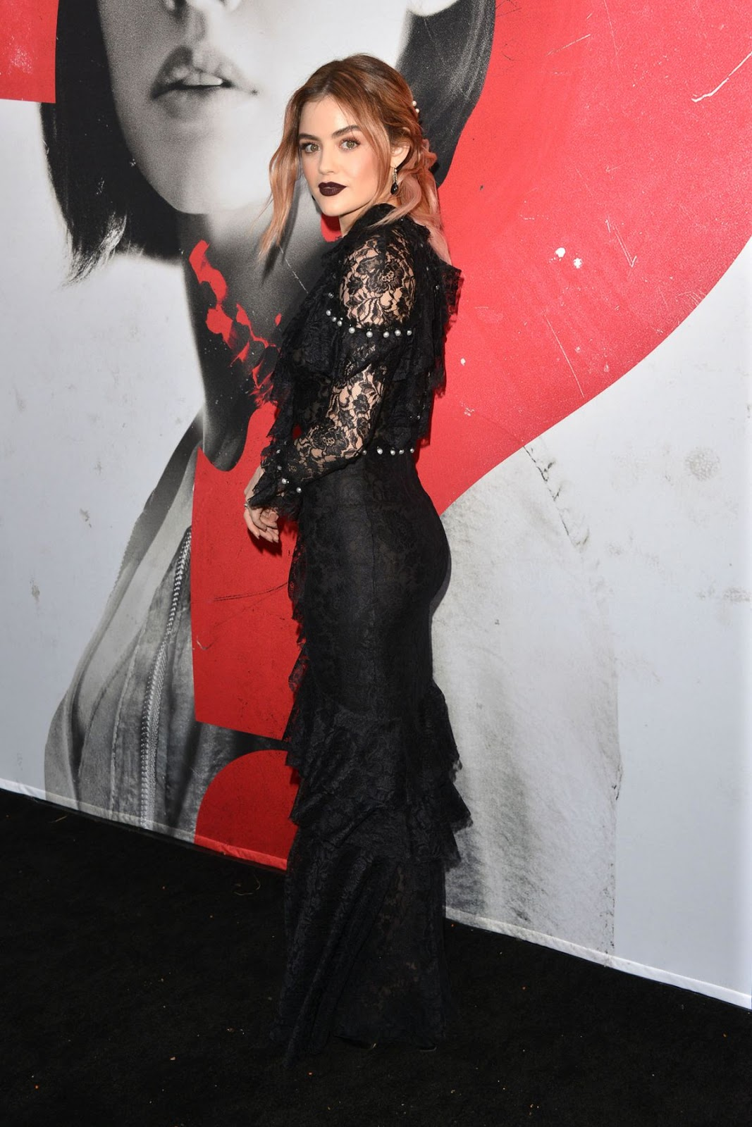 LUCY HALE at Truth or Dare Premiere in Los Angeles