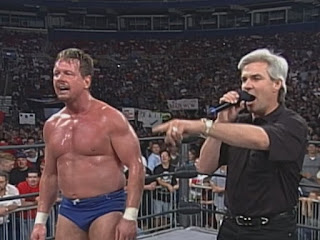 WCW Slamboree 1999 - Eric Bischoff returned and joined forces with Rowdy Roddy Piper