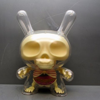 "The Visible Dunny 8"" Vinyl Figure by Jason Freeny x Kidrobot"