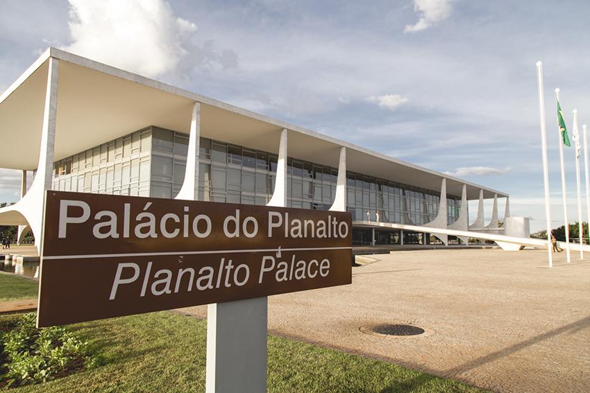palácio do Planalto em Brasilia
