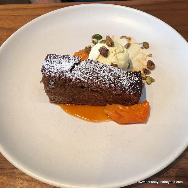 ginger cake at The Advocate in Berkeley, California
