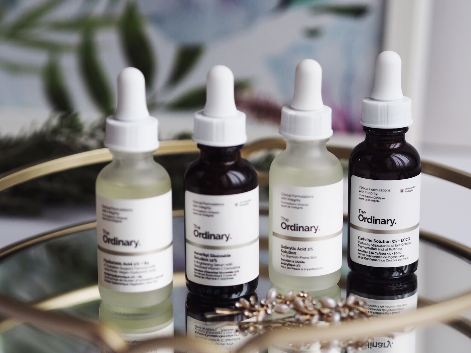 Four Bottles of The Ordinary Skincare for Review