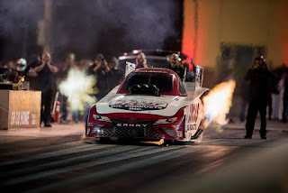 Del Worsham Nitro Funny Car in Qatar!