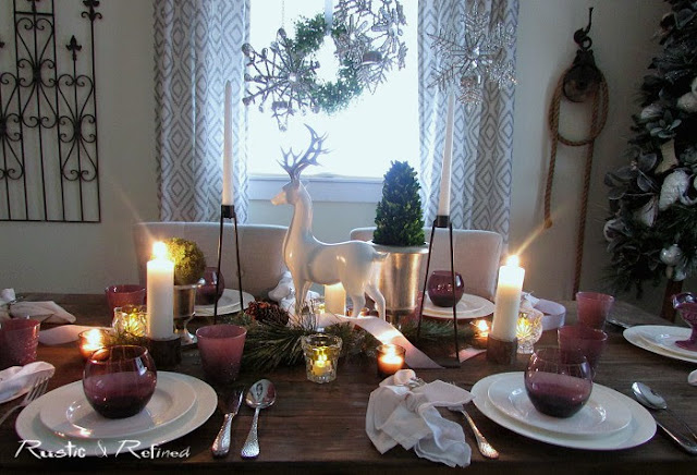 Christmas Tablescape for Entertaining