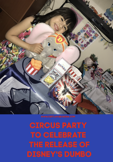 Circus Party To Celebrate The Release Of Disney's Dumbo