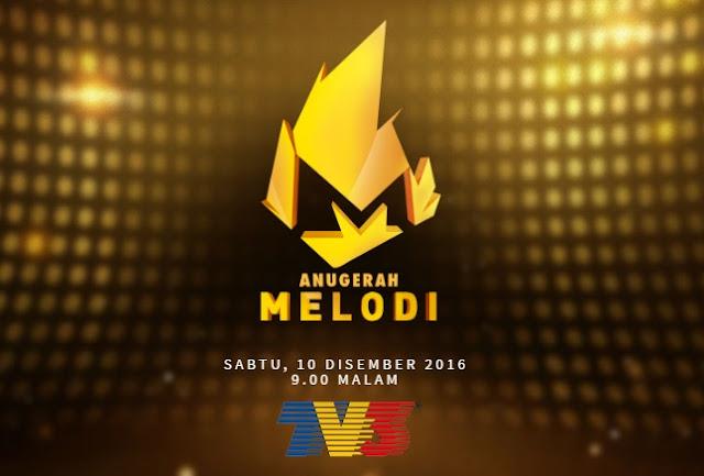 Cara Undian dan Senarai Calon Kategori Anugerah Melodi 2016