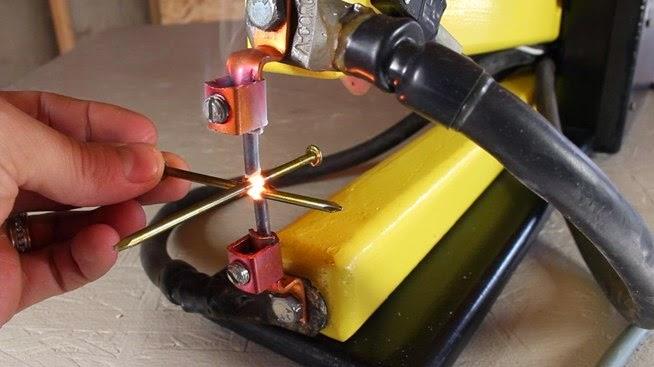Homemade Spot Welder Cara Membuat Sendiri Alat Las Titik