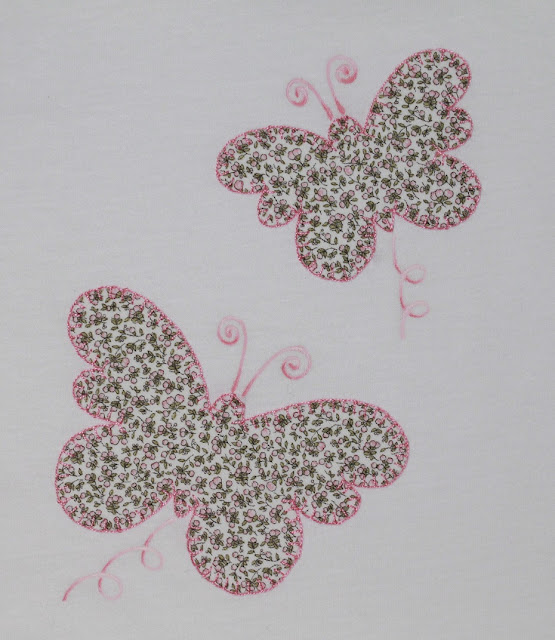 camiseta bebe mariposas