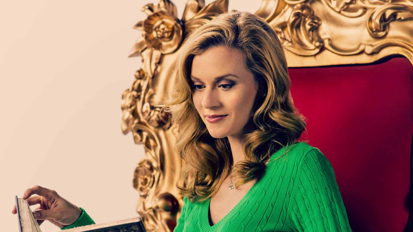 Promotion Picture for Hallmark Channel's 'Naughty or Nice' starring Hilarie Burton