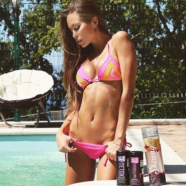 Fitness models Galinka Mirgaeva Instagram