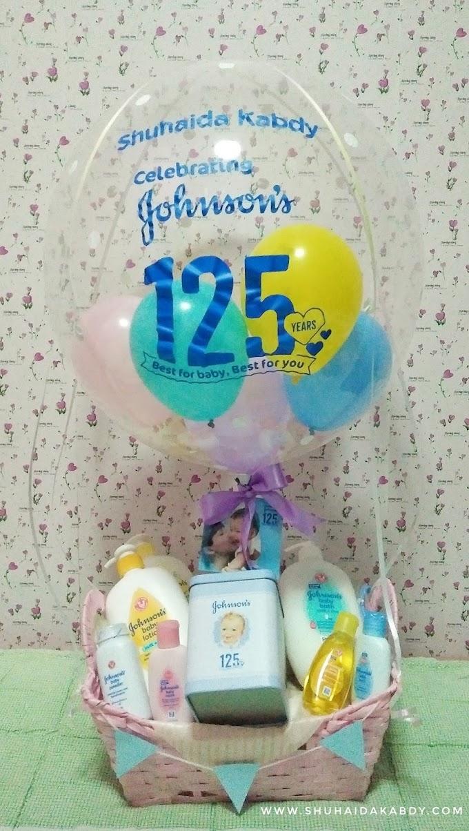 Hadiah Dari Johnson's Baby Sempena Ulangtahun ke 125 Tahun