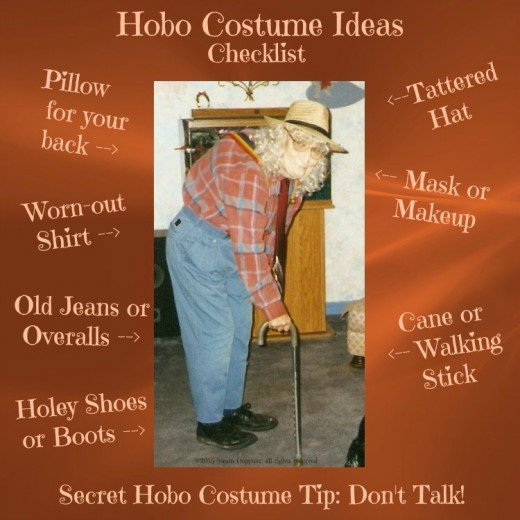 A hobo costume is easy to put together and one of the most effective when it comes to hiding your true identity. Here we review hobo costume ideas for men, women, boys and girls.