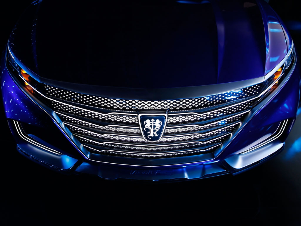 saics roewe vision  previews luxurious chinese suv   carscoops