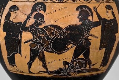 memnon ve akhilleus