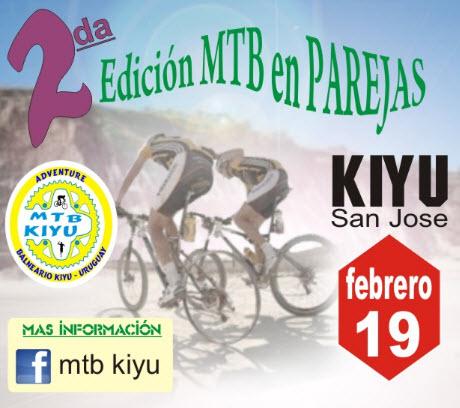 MTB en parejas en Kiyú (San José, 2a.ed.; 19/feb/2017)