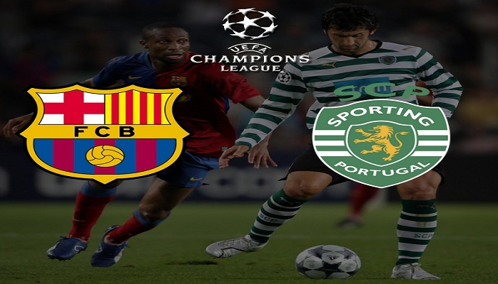 Ver Barcelona vs Sporting CP En Vivo