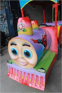 Lampu dan Aksesoris Kereta Mini Motor Thomas