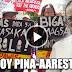 WATCH: Dating Pangulong Aquino, ipinaaaresto ng NDF dahil sa madugong dispersal sa Kidapawan
