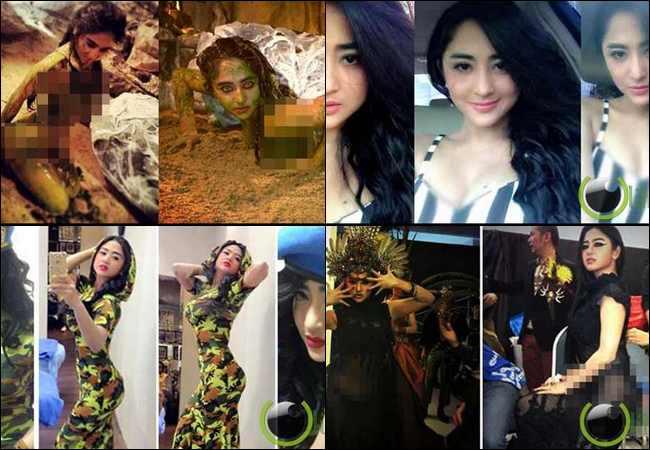 5 Aksi Hot dan Seksi Dewi Persik di Sosial Media