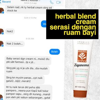 20 Testimoni Herbal Blend Cream Shaklee Untuk Ruam