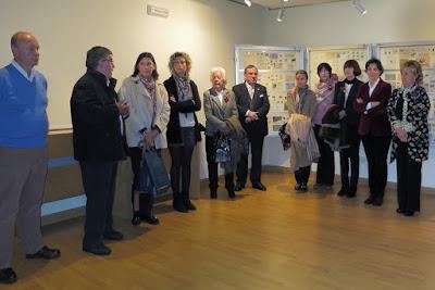 Inauguración de la Exposición filatélica con matasellos dedicado a los Encuentros de Manos Curtidas
