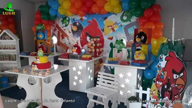 Decoração de aniversário Angry Birds