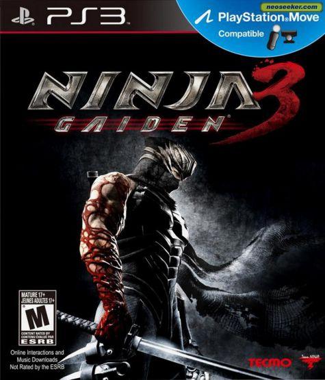 Ninja Gaiden 3: EXCLUSIVE GAMES