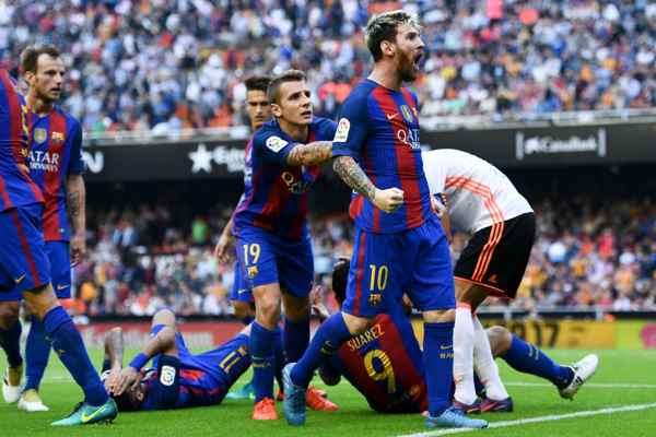 Update: Liga terkini Valencia vs Barcelona, Copa del Rey Untuk Anda
