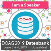 Speaking At DOAG Datenbank 2019