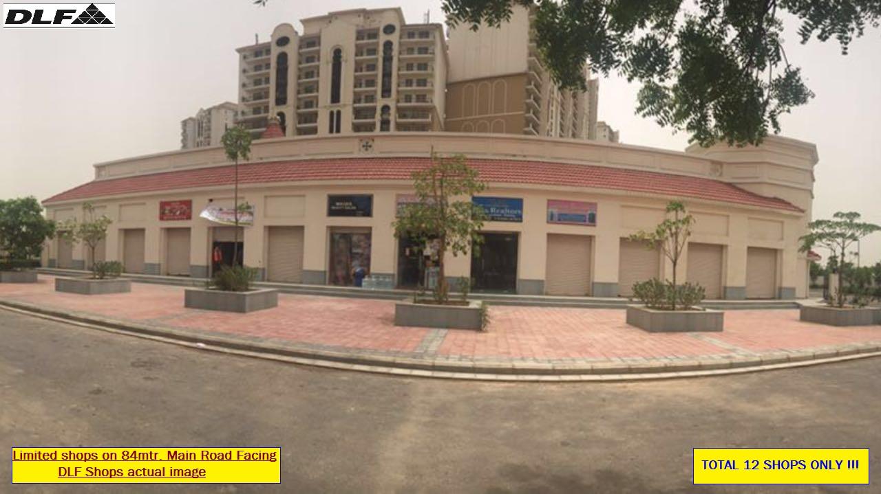 Exclusive DLF retail shops in Garden City Gurgaon