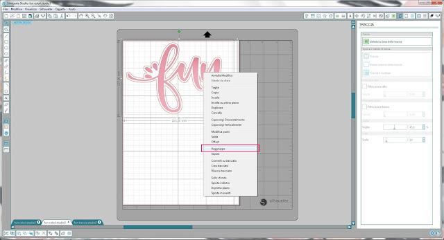 Come utilizzare singoli file .png nella modalità Print & Cut | Silhouette Cameo step13