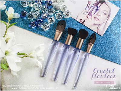 NeveCosmetics Crystal Flawless Brushes