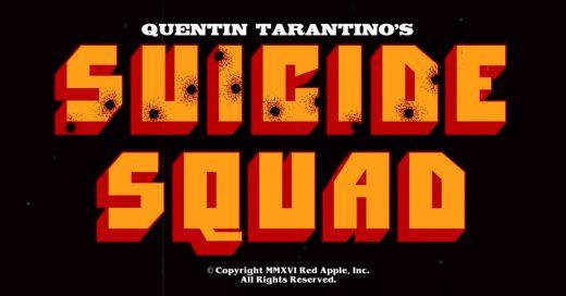 Así se vería Suicide Squad si fuera hecho por Tarantino