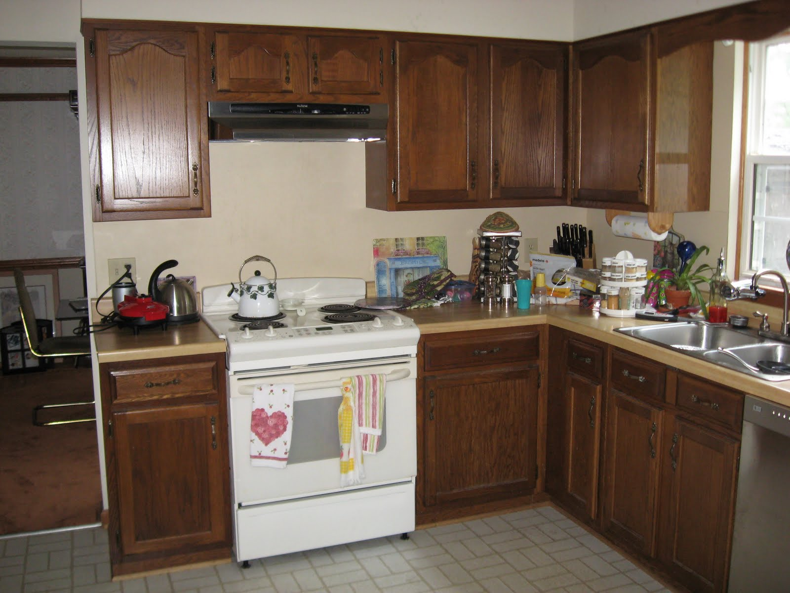 Kitchen Cabinets with Pulls